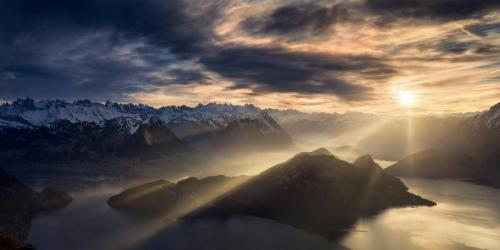 The rebirth of the light by Isabella Tabacchi