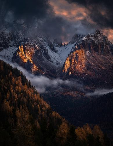 The last light of Autumn by Isabella Tabacchi