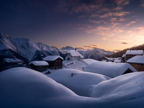 Winter oasis by Isabella Tabacchi